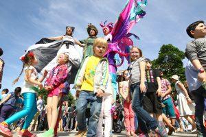 Молодые парламентарии Тверского района помогу отпраздновать День защиты детей