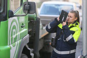 """Около 40 автомобилей эвакуировали с Петровки за неправильную парковку. Фото: """"Вечерняя Москва"""""""