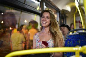 Маршрут автобуса «м5» изменится из-за фестиваля на площади Васильевский Спуск. Фото: архив, «Вечерняя Москва»