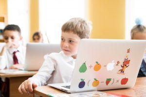 Основной этап онлайн-олимпиады по программированию стартовал на специальной платформе. Фото: Учи.ру