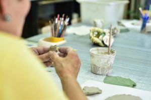 Занятия по керамике состоятся в районе. Фото: Пелагия Замятина, «Вечерняя Москва»
