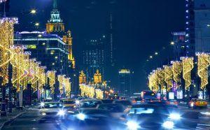Время работы транспорта в Рождественскую ночь продлят. Фото: сайт мэра Москвы