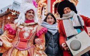 Зимние мастер-классы проведут на Манежной площади. Фото: сайт мэра Москвы