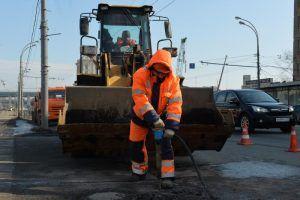 Дорожные работы провели в районе. Фото: Александр Казаков, «Вечерняя Москва»