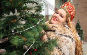 Одной из самых посещаемых площадок в новогодние праздники стала Тверская улица. Фото: Наталия Нечаева, «Вечерняя Москва»