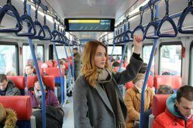 Москвичам порекомендовали совершать поездки на МЦК или другом виде общественного транспорта. Фото: Светлана Колоскова, «Вечерняя Москва»