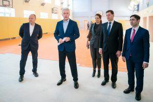 Мэр Москвы Сергей Собянин рассказал о развитии в Куркине программы «Мой район»