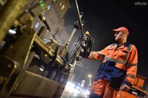 Ямочный ремонт дорог провели по трем адресам района. Фото: Антон Гердо, «Вечерняя Москва»