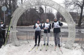 Сотрудники УВД по ЦАО приняли участие в чемпионате по зимнему служебному двоеборью