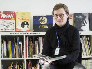 Творческая встреча пройдет в библиотеке имени Антона Чехова. Фото: Антон Гердо, «Вечерняя Москва»