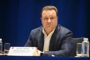 Сергей Золотарев рассказал о ключевых проектах благоустройства района. Фото: Александр Кожохин, «Вечерняя Москва»