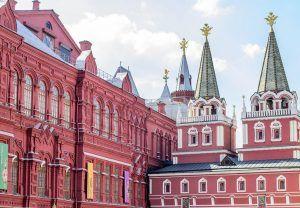 Исторический музей временно закрыли на карантин. Фото: сайт мэра Москвы