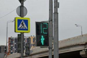 Рабочие приведут в порядок светофоры на дорогах столицы. Фото: Анна Быкова