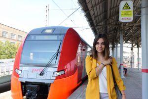 Рекордное количество поездок на МЦК с начала лета совершили жители столицы. Фото: Александр Кожохин, «Вечерняя Москва»