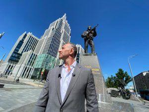 Сотрудники ГБУ «Центр» запустили новый проект «Памятники центра». Фото предоставили в ГБУ «Центр»