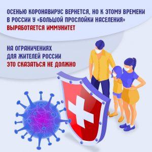 Москвичей проинформировали о сроках возвращения коронавируса в Россию