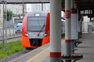 Пассажиры Московского центрального кольца выбрали имя для чат-бота. Фото: Анна Быкова