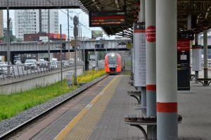 Поток пассажиров на МЦК восстановился после пандемии COVID-19. Фото: Анна Быкова