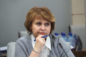 Глава комиссии Московской городской Думы по экономической и социальной политике Людмила Гусева