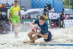 Турнир по пляжному регби состоится в Москве