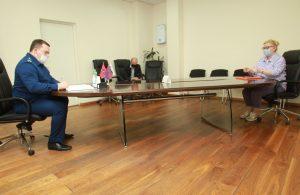 Встреча прокурора с жителями. Фото: Наталия Нечаева, «Вечерняя Москва»