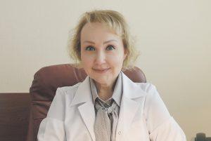 Депутат Московской городской Думы, главный врач поликлиники №3 Елена Самышина.