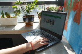 Онлайн-встречу провели сотрудники школы №1540. Фото: Денис Кондратьев
