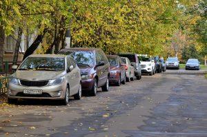 Парковочные места появятся для резидентов в районе. Фото: Анна Быкова
