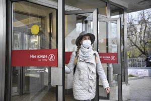 На ТПУ «Щелковский» за день выявили более 20 «безмасочников». Фото: Пелагия Замятина, «Вечерняя Москва»