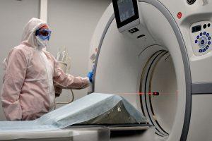 Московский сервис поможет врачам по всей стране обработать лучевые снимки с помощью ИИ. Фото: Светлана Колоскова, «Вечерняя Москва»
