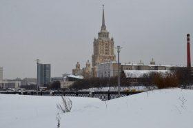 На Пушкинской площади начались провокации против полиции. Фото: Анна Быкова