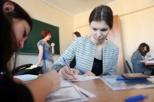 Лекцию провели в районной школе. Фото: Анна Иванцова, «Вечерняя Москва»