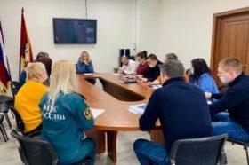 Заседание КЧС и ПБ на территории района Якиманка. Фото предоставили в пресс-службе Управы