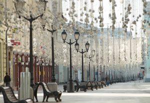 Виртуальную экскурсию по одной из улиц Москвы показали сотрудники гуманитарного университета. Фото: Наталия Нечаева, «Вечерняя Москва»