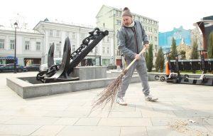 Весенний субботник состоится в районе. Фото: Наталия Нечаева, «Вечерняя Москва»