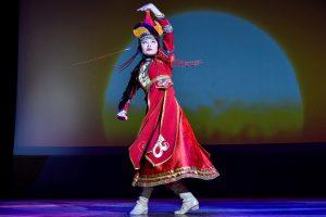 Выставку национальных костюмов открыли в Центре «Новослободский». Фото: Ирина Хлебникова, «Вечерняя Москва»