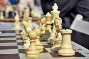 Ученики из школы №1540 приняли участие в соревнованиях по шахматам. Фото: Анна Быкова