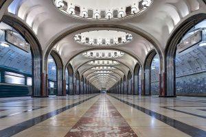 Новую площадку для бракосочетания откроют на станции метро «Маяковская». Фото: сайт мэра Москвы