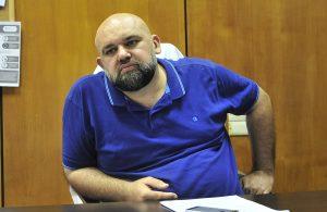 Главный врач клинической больницы №40 Денис Проценко