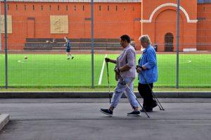 В проекте «Московское долголетие» откроются группы, свободные от ковид. Фото: Анна Быкова