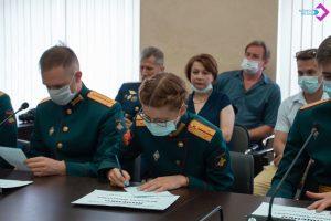 Военный центр МГМСУ имени Александра Евдокимова выпустил офицеров. Фото со страницы МГМСУ имени Александра Евдокимова в социальных сетях